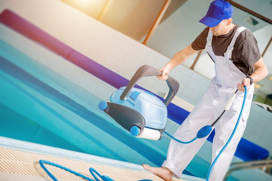 Try A Cleaning Robot Instead- maintaining your pool