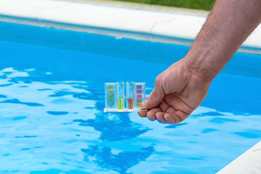 Let A Reputable Pool Maintenance Company Keep Your Chemical Levels Balanced To Avoid The Adverse Side-Effects