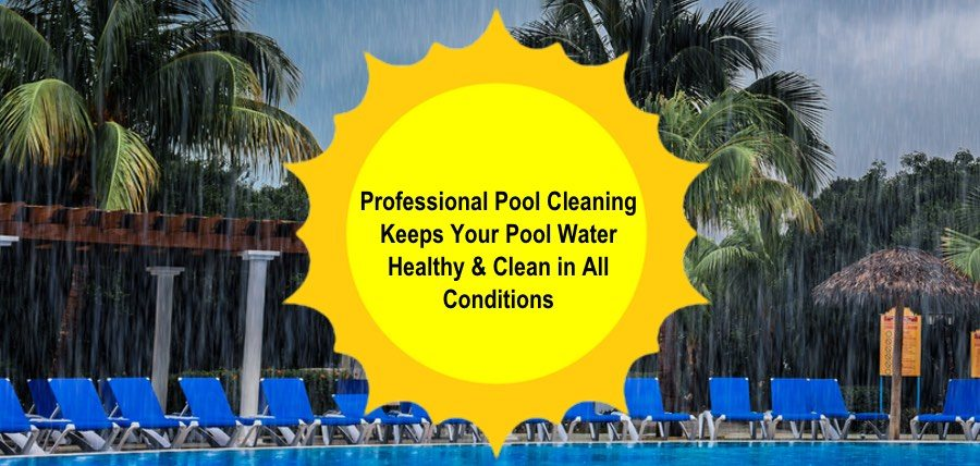Professional Pool Cleaning Keeps Your Pool Water Healthy & Clean in All Conditions