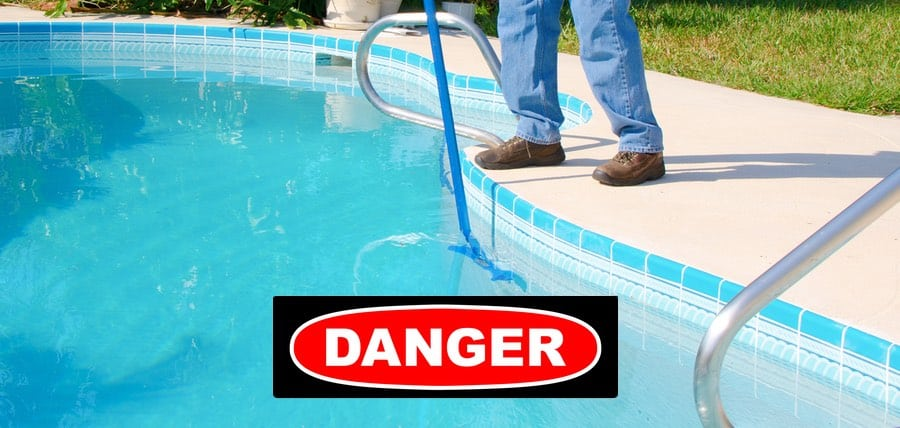 The Danger of Hiring an Untrained Pool Service Company