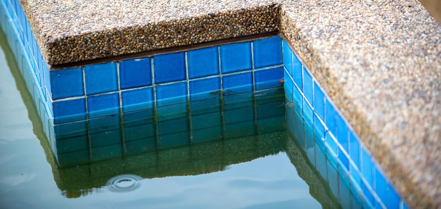 How to Remove Swimming Pool Stains | Removal of All Types ...