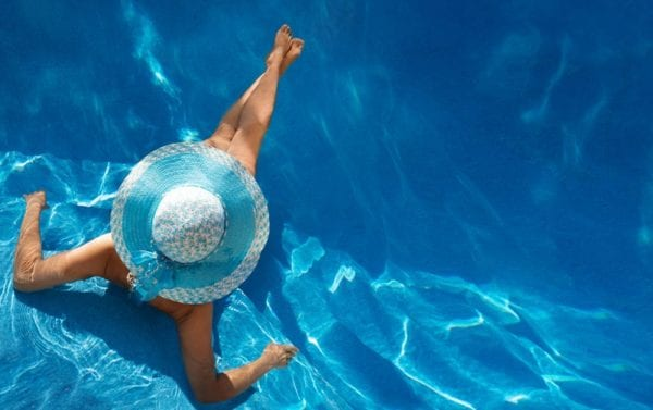 In the Swim of Things - The Secret to Crystal Clear Pool Water